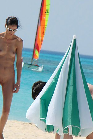 Nude beach voyeur hot photos