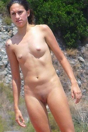 Hot things filmed at nude beach
