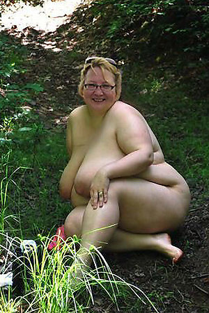 Fat nudist older ladies for your hard cock