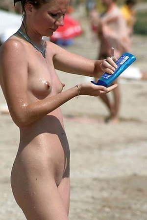 A slim and busty bitch on the Costa Natura
