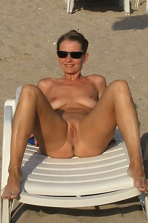that wives shows their pussy on beach