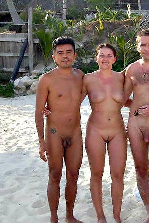 Real public beach exclusive photos