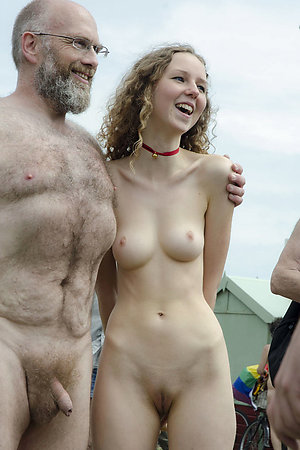 Nudist young girls with old men