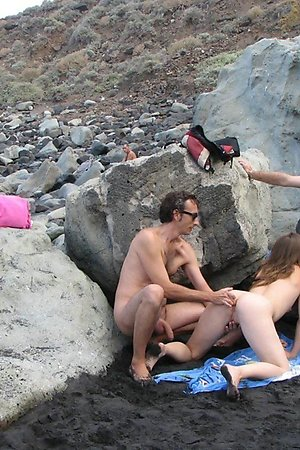 Liberated nudism adepts shared herself for other