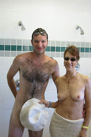 Only real nudism action